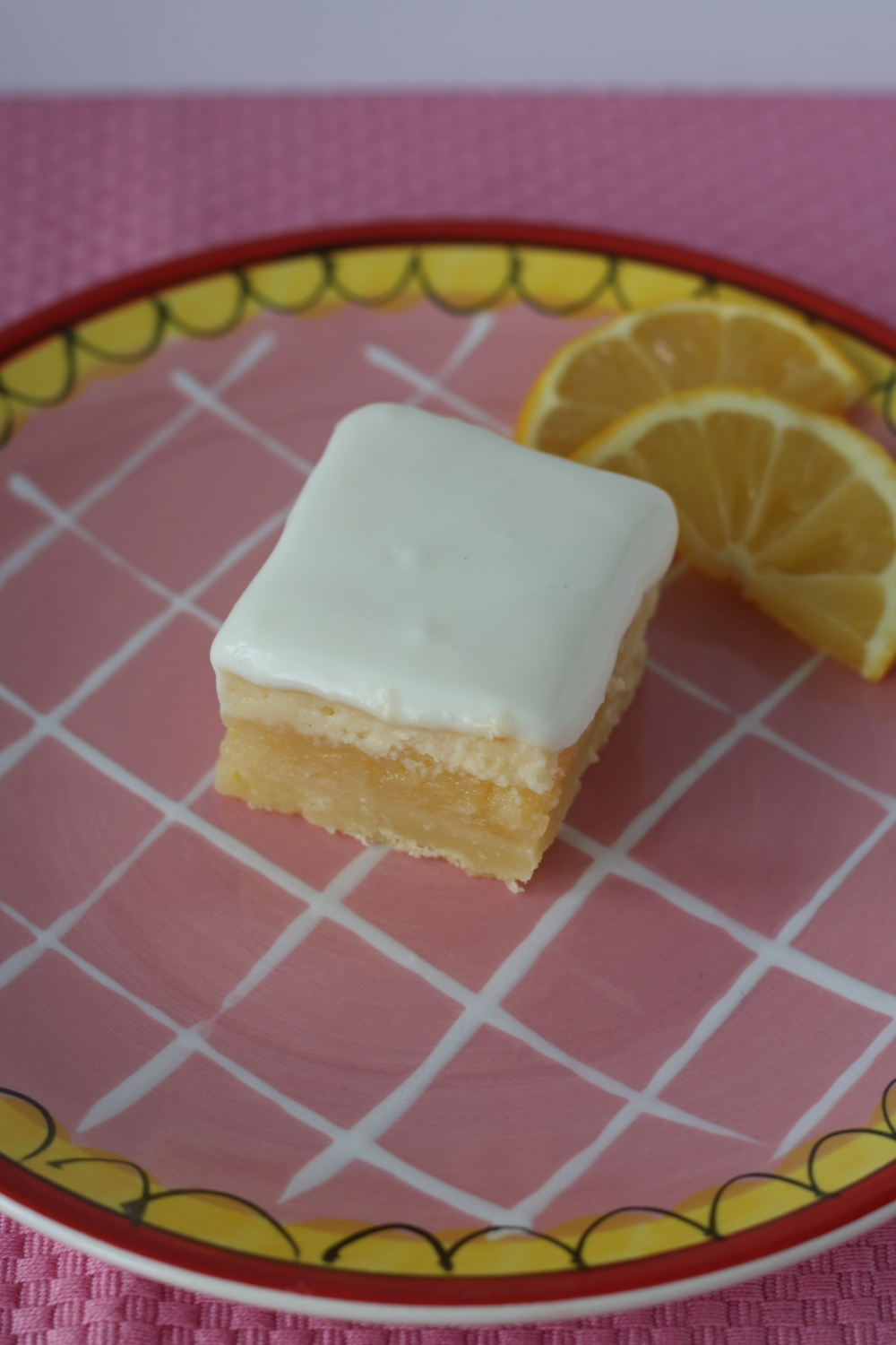 Lemon cheesecake bar