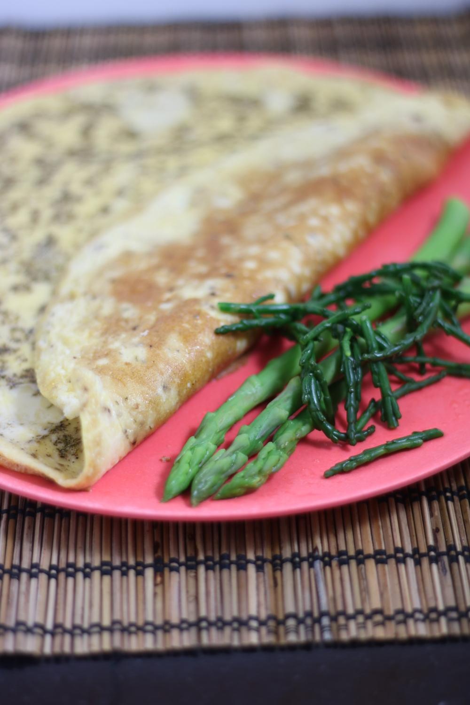 omelet asperges