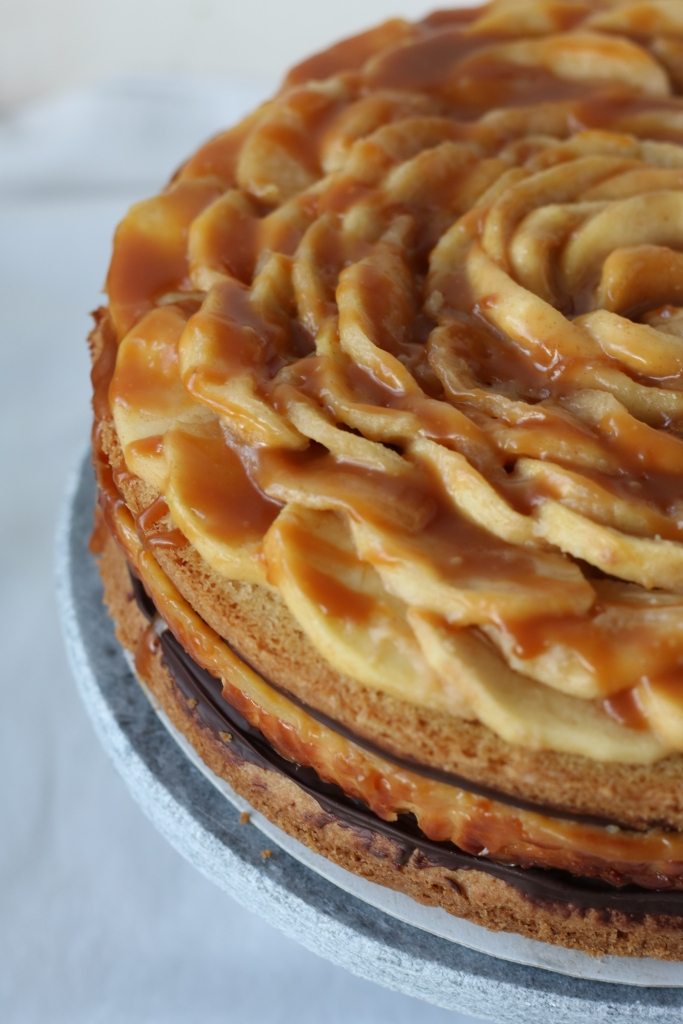 appel caramel cheesecake
