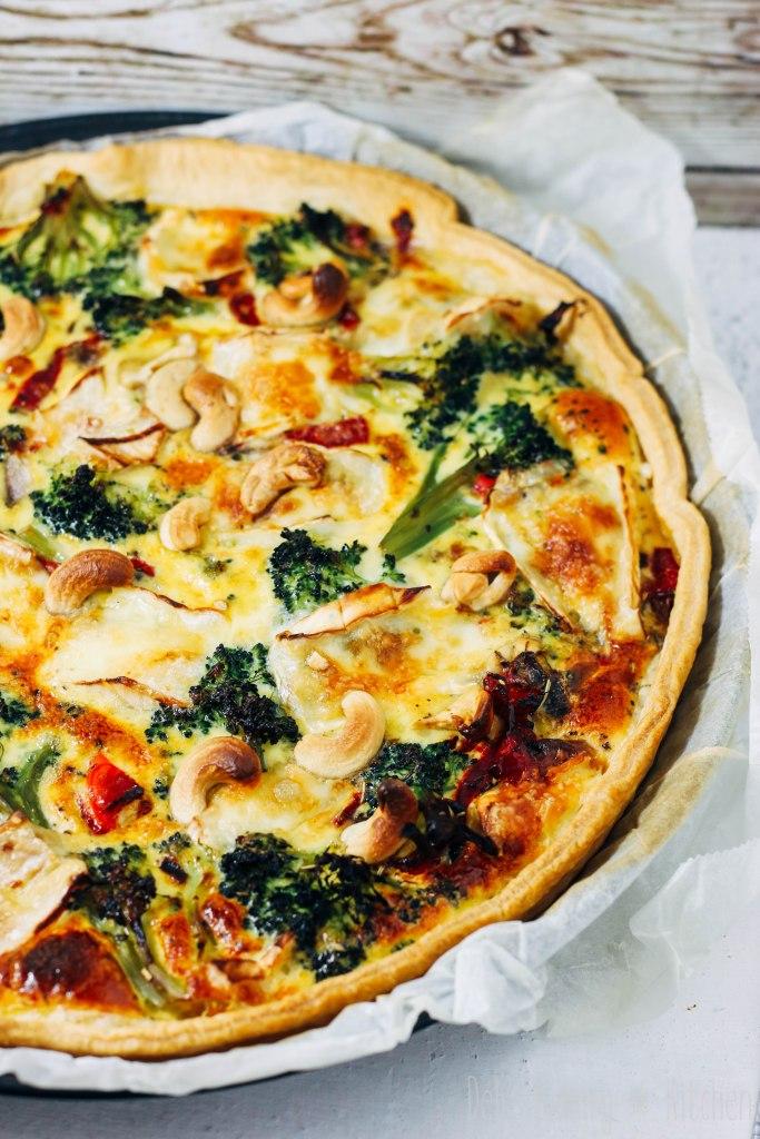 Quiche met broccoli en brie